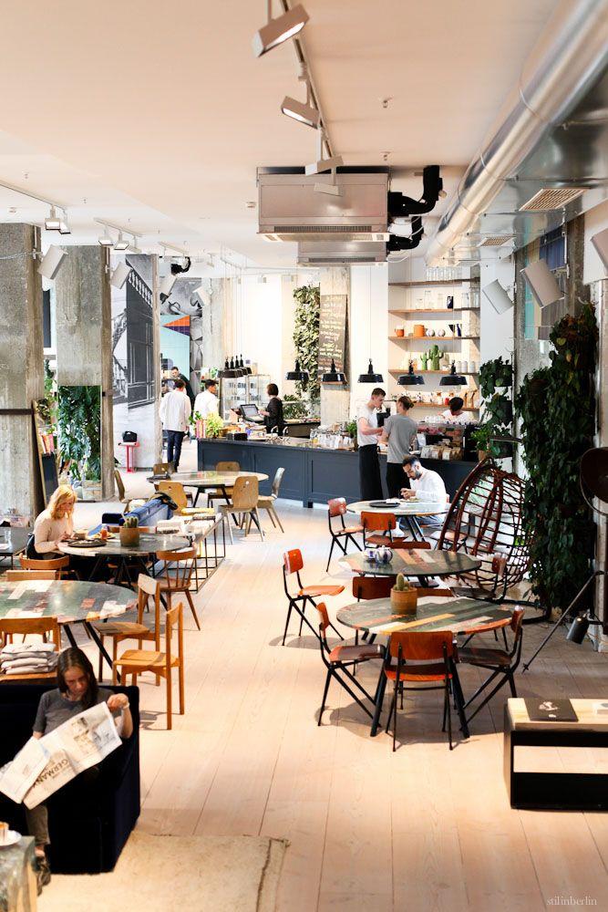 Dieses Restaurant ist in erster Linie ein Shop- tolles Konzept!