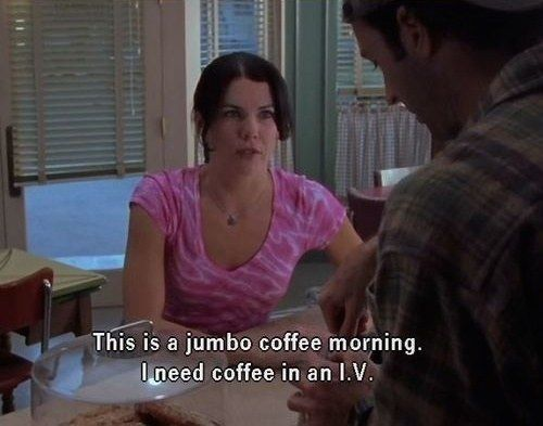 """C is for Coffee. 