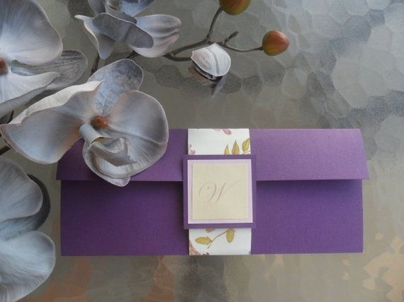 Purple invitations/ Inviti viola