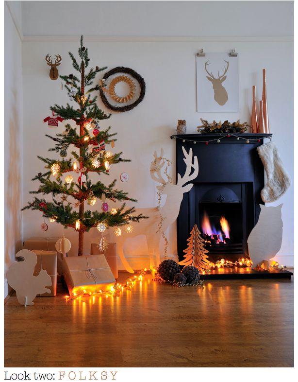 cute holiday display