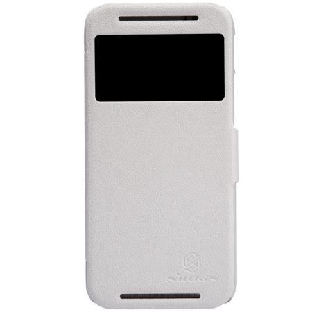 Чехол для HTC One M8 Nillkin Fresh Series белый  — 390 руб. —  Чехол Чехол для HTC One M8 Nillkin Fresh Series белый