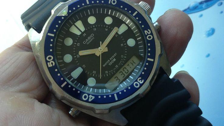Casio AQ-600W Diver watch Module 307 Arnie