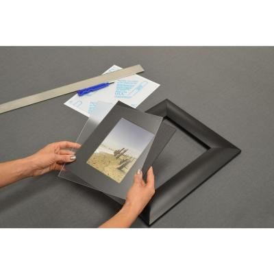 11 in. x 14 in. Non-glare Styrene Sheet-1S11143A - $4.51 / each @ The Home Depot