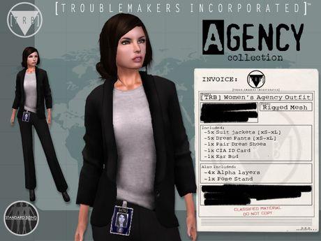 [TRB] Women's Agency Suit Outfit