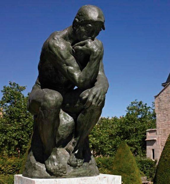 RODIN, Auguste. O Pensador. 1903. Escultura em bronze