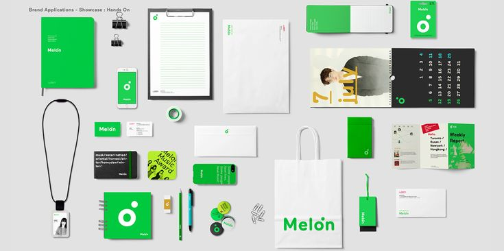 The Whole Note: Melon Rebranding on Behance