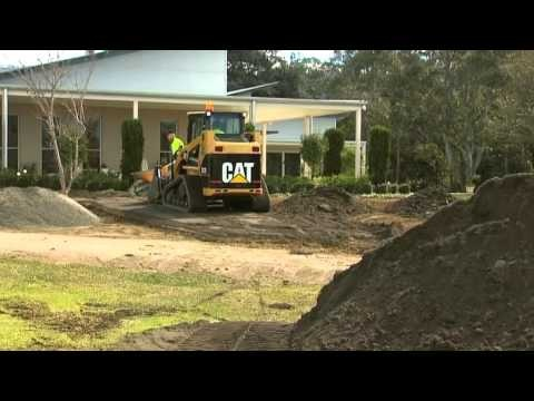 Preparing the foundation for your Sir Walter Turf lawn - Cobbitty Turf