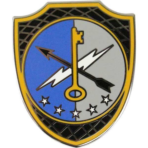 780th Military Intelligence Combat Service Id Badge Badge Army Patches Army Intelligence