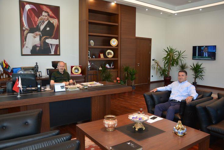 Yapı Kredi Bankası Trakya Bölge Saha Müdüründen Odamız Yönetim Kurulu Başkanı İbrahim Gönül´e Ziyaret
