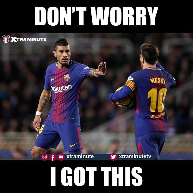 Reposting @xtraminute: Paulinho carrying the team 😤 ⚠Make sure to follow! ☑️Facebook: xtraminute ☑️Twitter: xtraminutetv ☑️Youtube: xtraminute #paulinho #lionelmessi #messi #messi10 #D10S #leomessi #liomessi #lapulga #fcb #fcbarcelona #barcelona #barca #barça #blaugrana #viscabarca #viscabarça #malaga #malagacf #laliga #laligasantander #ligasantander #soccer #football #futbol #futebol #calcio #footy #soccermemes #footballmemes #thebeautifulgame