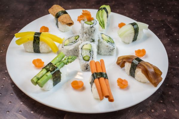 Blue Ginger Asian Fusion Bistro's pan-Asian menu has seen gradual-but-creative changes. The serious sushi lineup has also been refreshed continually.
