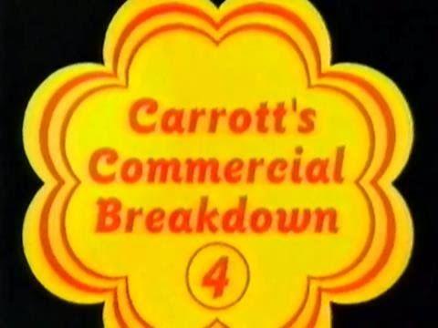 Carrott's Commercial Breakdown 4 - 5th March 1996