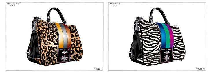 Dibujos de bolsos hechos por Juanvi Broch