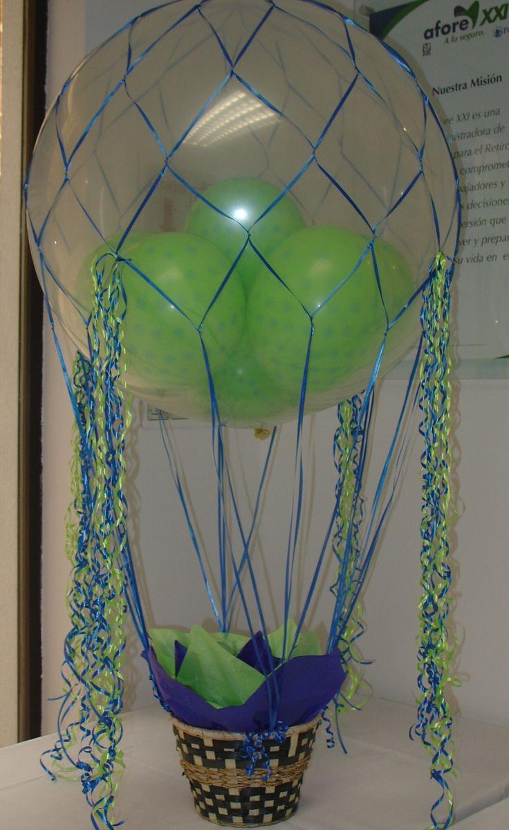 Cantoya, con canasto. globo de 3 pies diámetro con helio. Envío a domicilio. Regalos y globos Amer. 5524 6977