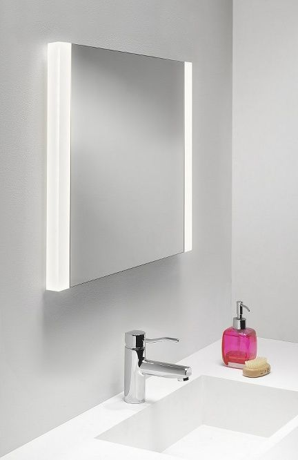 99 best bathroom en suite cloakroom lighting mirrors images on twin lamp illuminated mirror h610mm w600mm aloadofball Choice Image