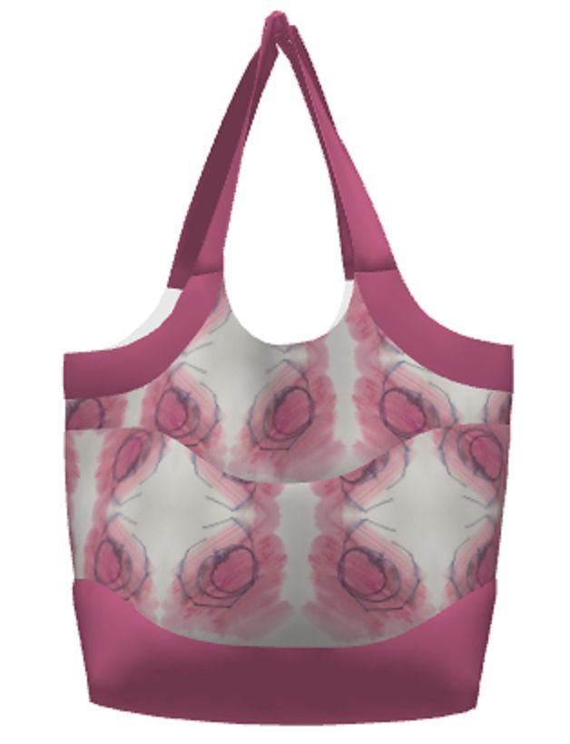 New ,artistry' fabric range 2 - pink metal