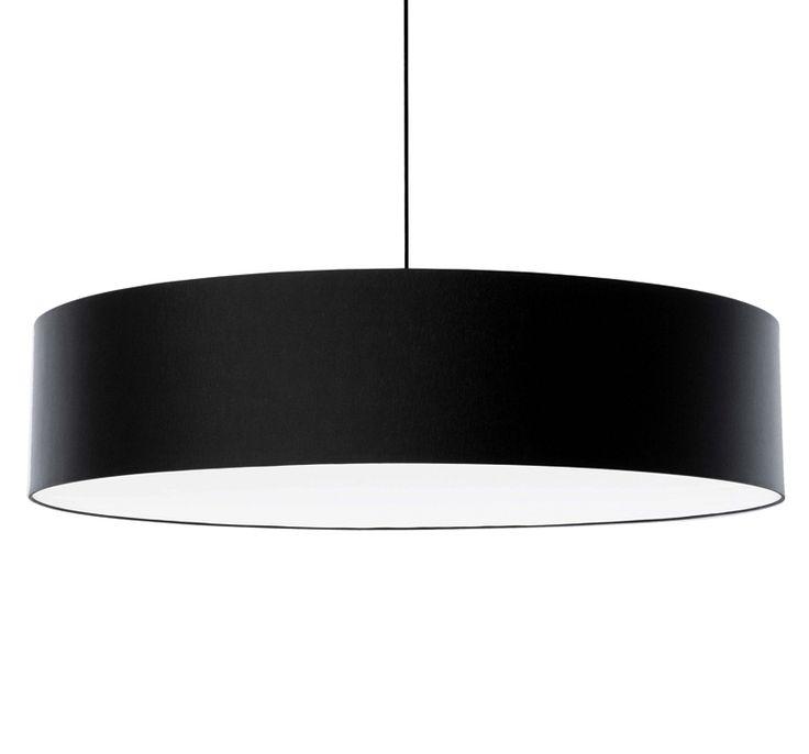 FAB1100 black textile acoustic pendant