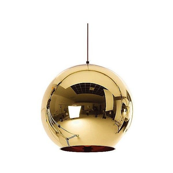 Tom Dixon Bronze Copper Shade Pendant ($735) ❤ liked on Polyvore featuring home, lighting, ceiling lights, bronze copper, orb lamp, orb lighting, bronze lighting, tom dixon lamp and tom dixon