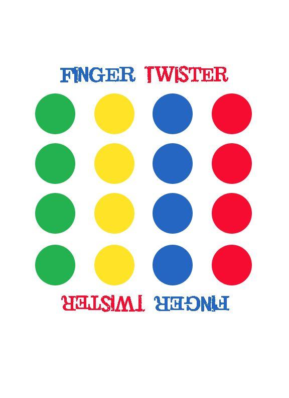 De leerkracht draait met het twisterbord. En verteld welke vinger op welke kleur moet komen. De leerlingen spelen dit spel per twee. Dit is een ideale opdracht om een schrijfles te starten.