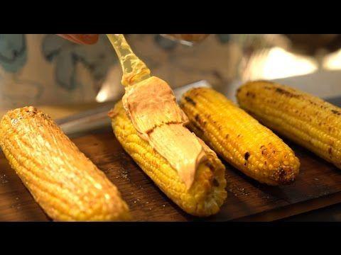 Кукуруза запеченная в масле под майонезом и сыром - YouTube