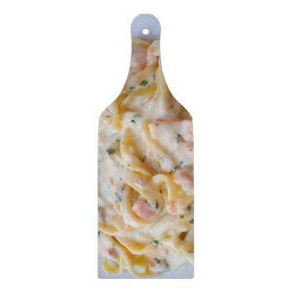 Pasta Custom Food Photo Cutting Board - fun gifts funny diy customize personal