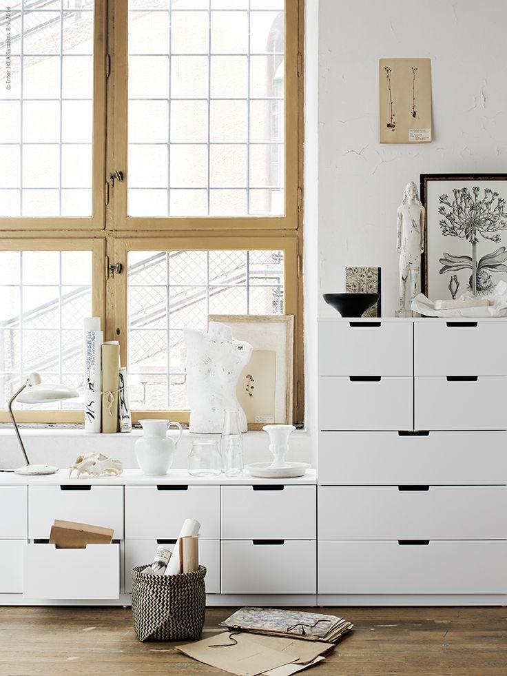 ikea nordli white design cabinets drawers