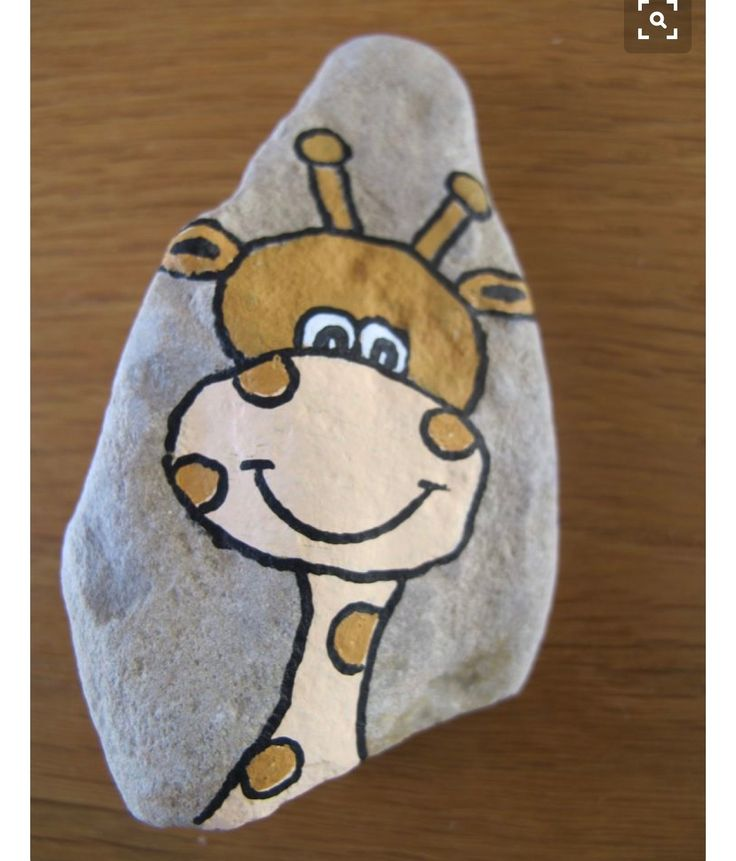 I've been wanting to do a giraffe, but they all look so complicated! Not this cute cartoon!