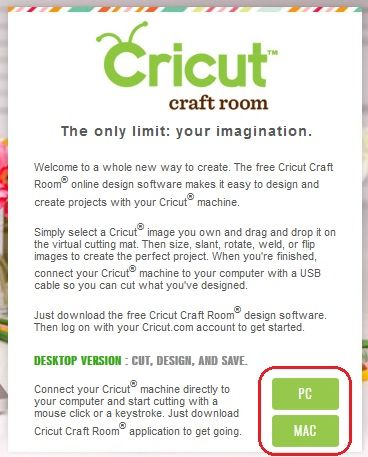 Cricut CraftRoom Blog: Getting started