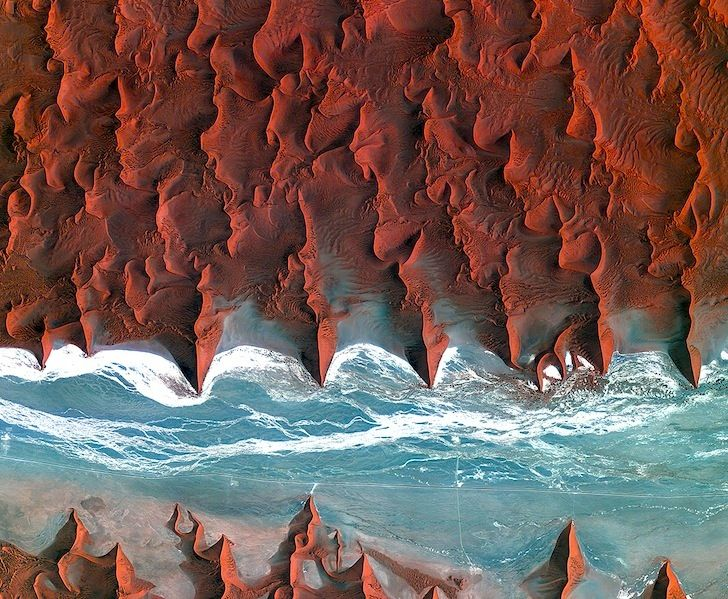 As part of their Observing the Earth archive, the European Space Agency has curated jaw-dropping images of Earth taken from outer space.