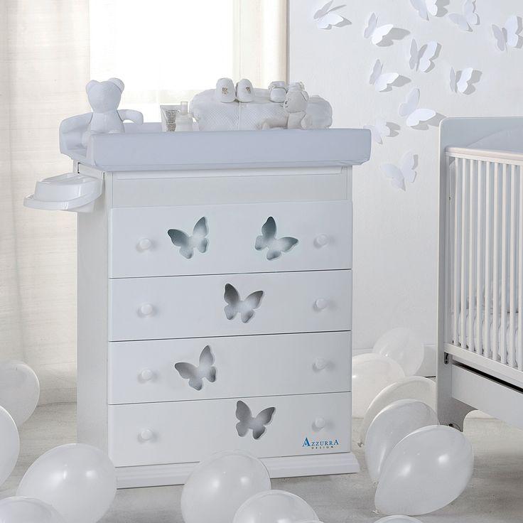 Vintage  Baby Wickelkommode ARIA von Azzurra Design erh ltlich im Baby Shop pali