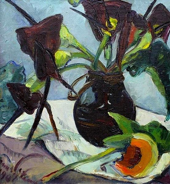 'Black Lilies', 1941 - Irma Stern
