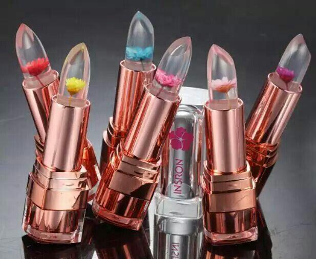flower lipstick