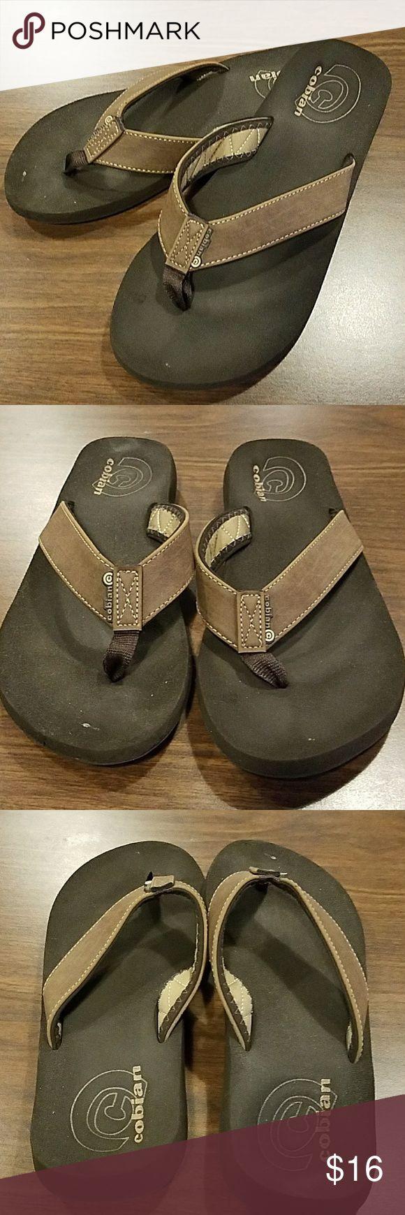 Cobian Flip Flops Men's Cobian Flip Flops Some mild wear but still in good shape. Size 13 Cobian Shoes Sandals & Flip-Flops
