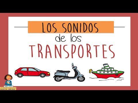 Aprendemos los sonidos de los transportes_Discriminación auditiva - YouTube