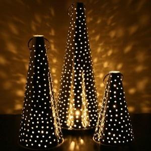 Finnish Tin Lanterns