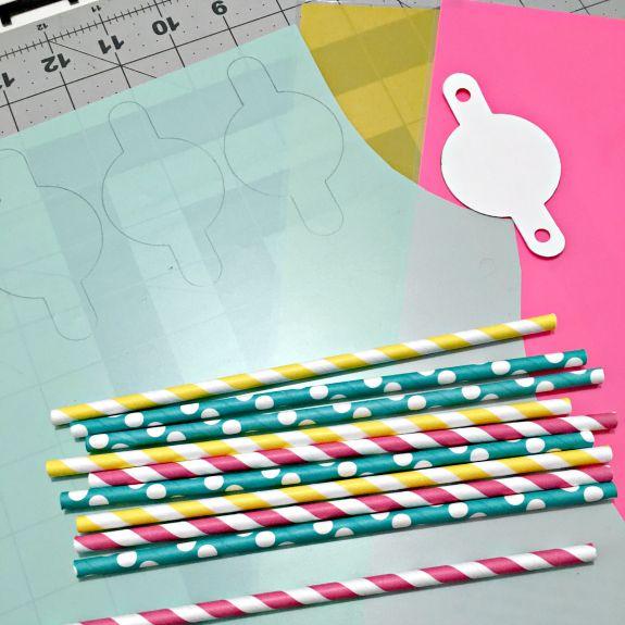 Happy Birthday Straws By Jennifer Ingle #BazzillBasics