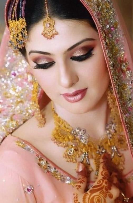 pakistani bride kits make up | Pakistani bridal make-up 2014