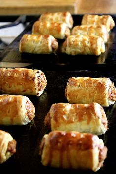 vegetarian sausage rolls, fab for a vegetarian Christmas!