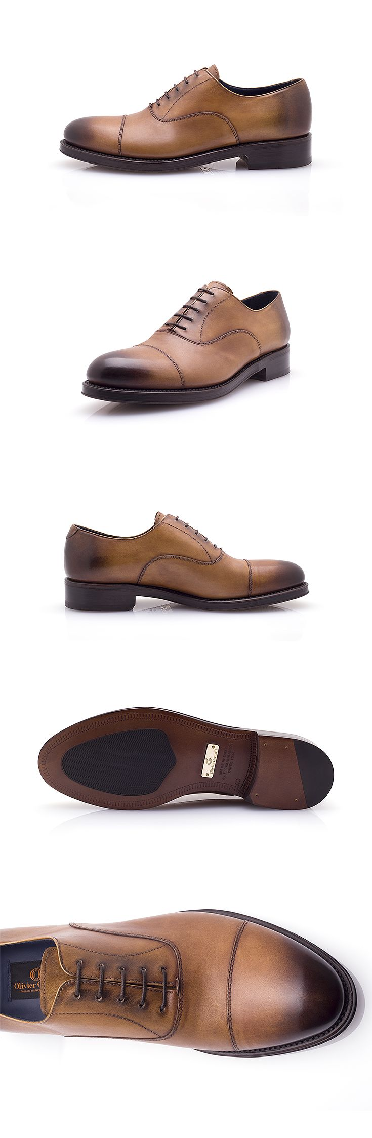 The Paladino is a classic Oxford shoe, ideal for your formal and elegant outfits. However, the subtle nuances of its patina will make you stand out from the crowd in a discreet but indisputable way. #shoes #oxford #goodyear #luxury #brown