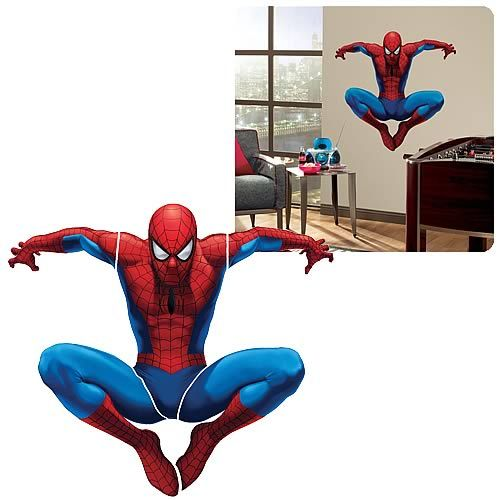 Spider Man Peel And Stick Giant Wall Appliqué Part 66