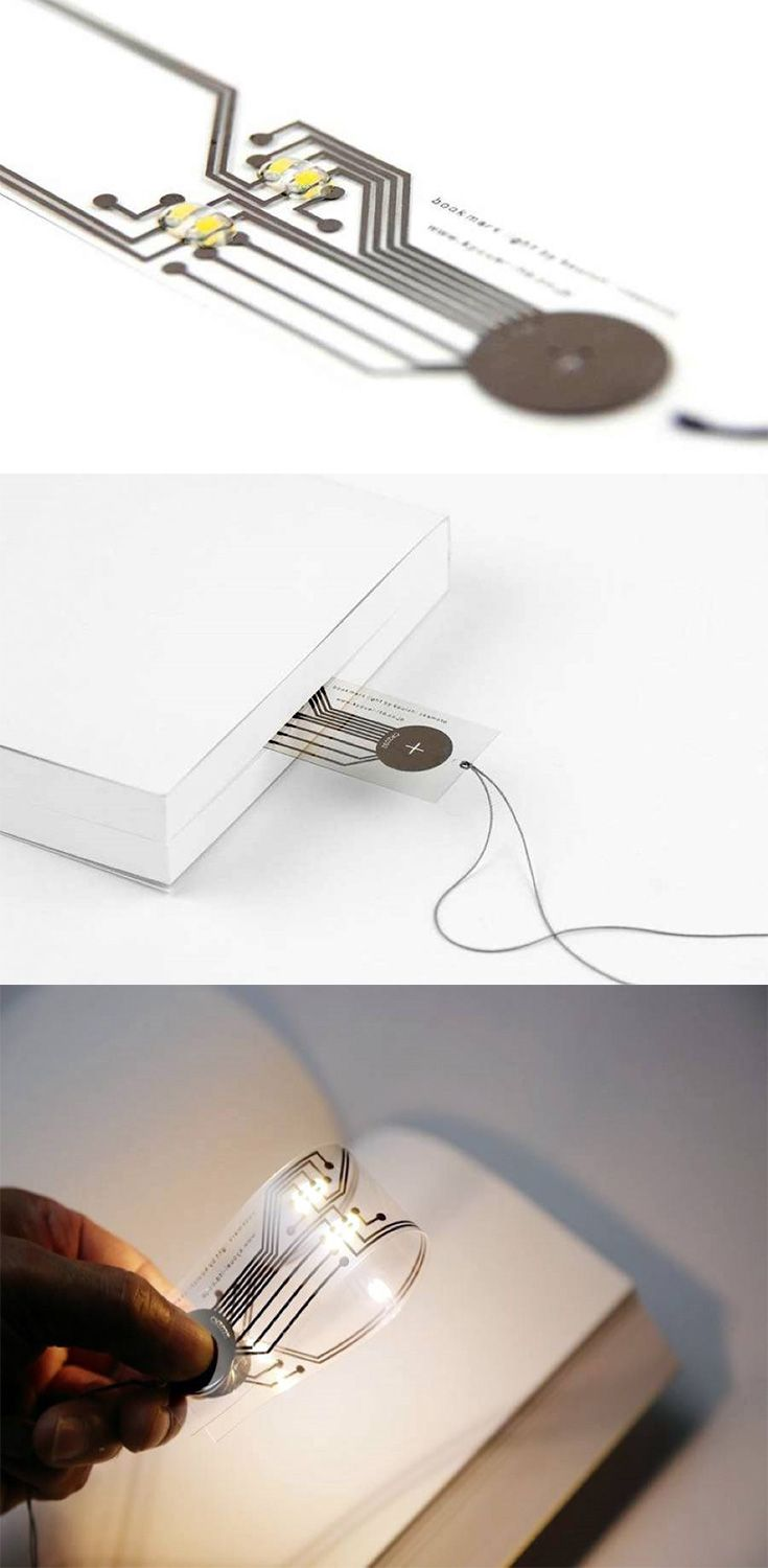 The 'Bookmark Light' is simple, beautiful, and one of those things you could show off to your friends! So we brought it to the CKIE store... READ MORE at Yanko Design !