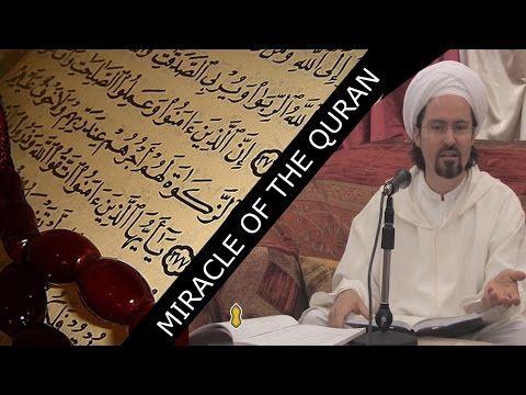 Miracle of the Quran - Shaykh Hamza Yusuf | Amazing - YouTube
