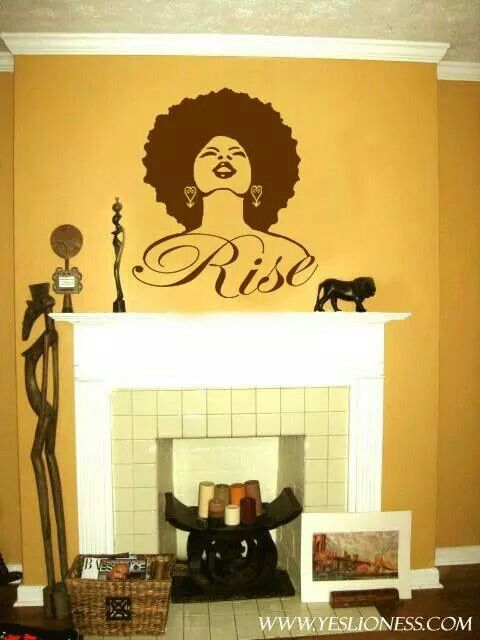12 best Wall Decals images on Pinterest | Wall decals, Africa and Afro