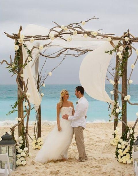 Rustic Beach Wedding Décor Ideas Tips Esküvő A Tengerparton Ekkor 2018 Pinterest Ceremony és