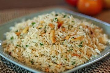 Almond Rice Pilaf   Real Soul Food Recipes