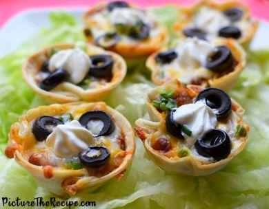 12 super tasty party food ideas - # 5 Mini Tacos [DDG]