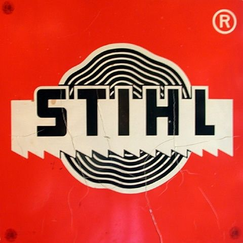 Just saw a commercial that STIHL is made in the USA! - Vintage 70s looking Stihl Chainsaw logo