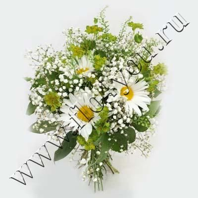 Flo4you - флористика и дизайн / Магазин / Букет 17063 Ромашки - срочная доставка цветов