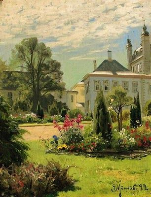 Landscape Painting by Danish Artist Peder Monsted (1859-1941)