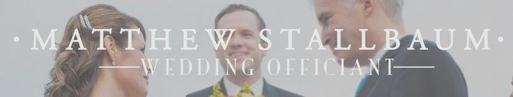 Wedding Officiant in Florida | Matt Stallbaum is a Wedding Officiant in Central Florida, Orlando, Cocoa Beach, Melbourne Beach and Surroundi...